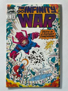 Marvel THE INFINITY WAR #3, Thanos, VF/NM (A390)