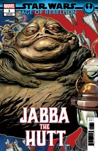 Star Wars AOR Age Of Rebellion Jabba The Hutt #1 Puzzle Variant (2019) NM