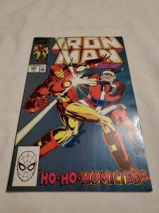 Iron Man 254 Very Fine- Cover by Bob Layton