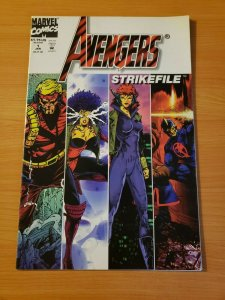 Avengers Strikefile #1 One-Shot ~ NEAR MINT NM ~ (1994, Marvel Comics)