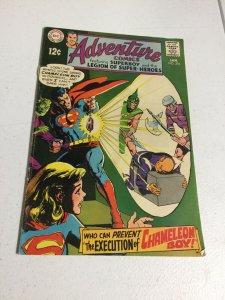 Adventure Comics 376 Fn- Fine- 5.5 Top Staple Detached DC Comics