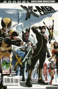X-Men: Legacy (2008 series) Annual #1, Fine+ (Stock photo)