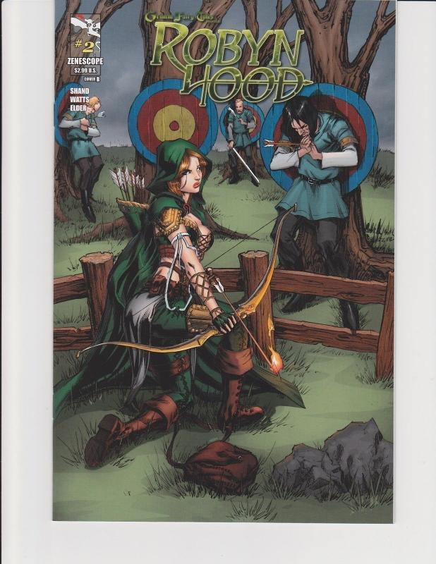 Robyn Hood #2 Cover B Zenescope Comic Grimm Fairy Tales GFT