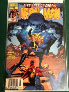 Iron Man #7 Heroes Reborn the Return