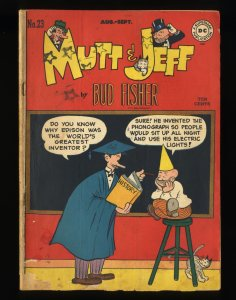 Mutt and Jeff #23 GD/VG 3.0