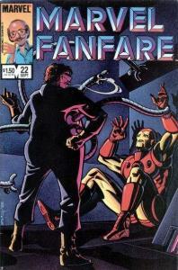 Marvel Fanfare (1982 series) #22, NM- (Stock photo)