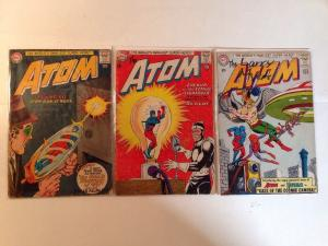 The Atom 7 8 12 3 Book Lot Set Run 2.0-3.0