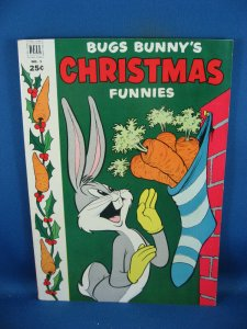 DELL GIANT BUGS BUNNY CHRISTMAS FUNNIES 3 VF 1952
