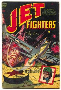 Jet Fighters #5 1952- 1st issue- Alex Toth art- Korean War G