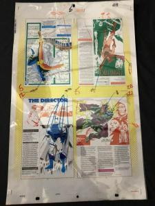 DC's Who's Who Original Production Art-Flying Fox- Chroma- Director