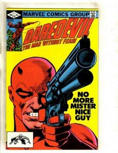 Daredevil # 184 NM Marvel Comic Book Frank Miller Elektra Bullseye Hand HJ9