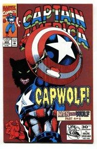 Captain America #405 1992-1st CAPWOLF-Marvel comic book