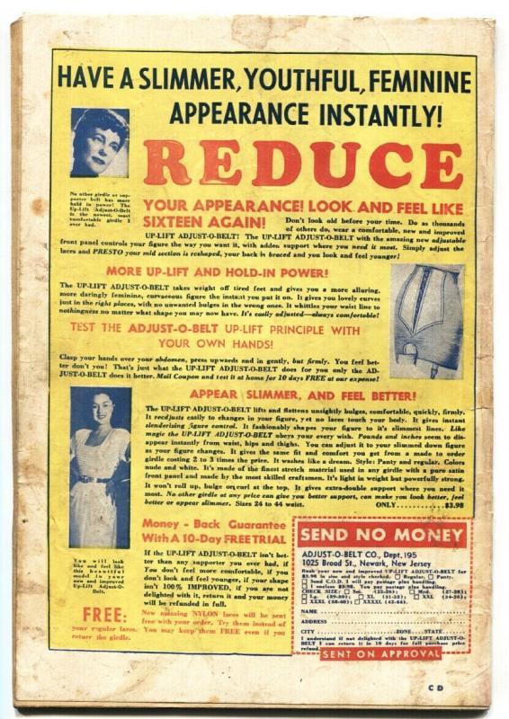 Crime Detective Vol. 2  #1 1950-Hillman-criminals-violence-pre-code