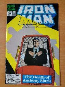 Iron Man #284 Direct Market Edition ~ NEAR MINT NM ~ 1992 Marvel Comics