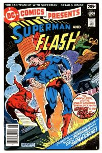 DC COMICS PRESENTS #1 comic book-1978-4th SUPERMAN-FLASH RACE