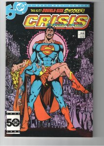 Crisis on Infinite Earths #7 (1985);VF/NM or better;Death of Supergirl