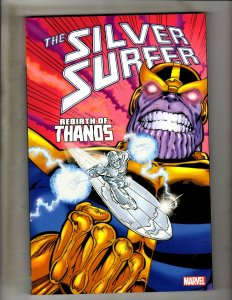 Silver Surfer Rebirth Of Thanos Starlin Lim Marvel Comics TPB Book NM 4th Pr HR8