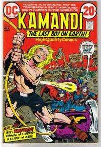 KAMANDI #4,  VF-, Jack Kirby, Prince of Tigers, 1972, more JK in store