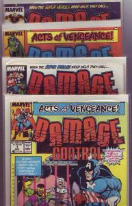 Damage Control Set #1123 (Dec-89) NM- High-Grade She-Hulk, Spider-Man, Thor