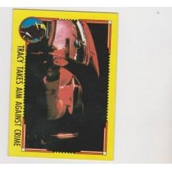 1990 Topps DICK TRACY-TRACY TAKES AIM AGAINST CRIME #64