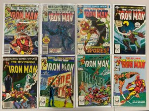 Iron Man comic lot #153-199 all 16 different books average 6.0 FN (years vary)