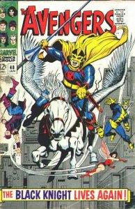 Avengers #48 (ungraded) stock photo / SMC