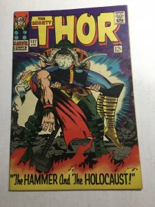 Thor 127 Vf Very Fine 8.0 First 1st Appearance Of Pluto Marvel Comics