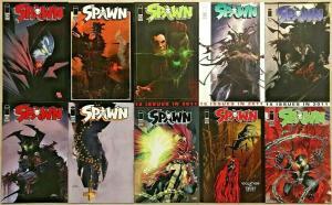 SPAWN#201-213 NM LOT 2011 (10 BOOKS) TODD MCFARLANE IMAGE COMICS