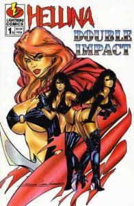 Hellina/Double Impact #1B VF/NM; Lightning | save on shipping - details inside