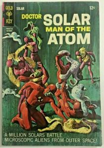 DOCTOR SOLAR MAN OF THE ATOM#21 VG/FN 1967 GOLD KEY SILVER AGE COMICS