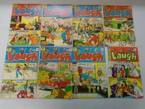 Bronze age Archie Laugh + Archie TV lot 47 different average 5.0 VG FN