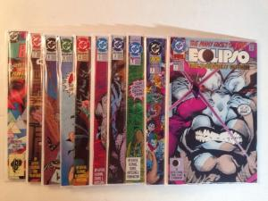 Eclipso Darkness Within 1-2 Vengance 1-7 Near Mint Lot Sert Run
