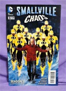 Bryan Q Miller Superman SMALLVILLE CHAOS #3 Season 11 Agusten Padilla (DC, 2014)