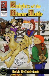Knights of the Dinner Table #40 VF/NM; Kenzer and Company | save on shipping - d