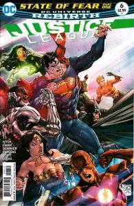 Justice League (2016 series) #6, NM (Stock photo)