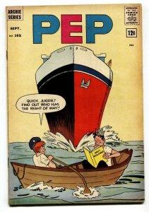 Pep Comics #165 1964- Archie- Jughead- Cruise ship