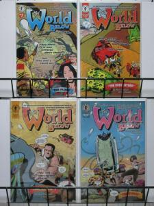 WORLD BELOW  (1999 DH) 1-4  PAUL CHADWICK complete set!