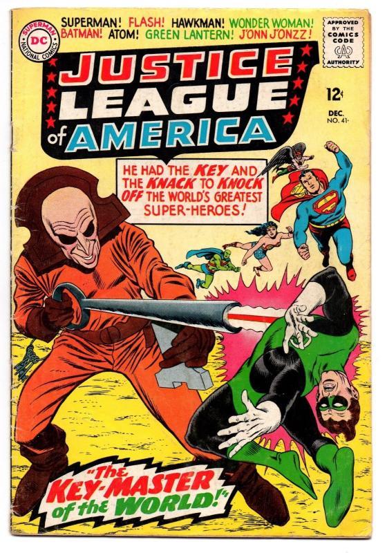 Justice League of America #41 (Dec 1965, DC) - Very Good