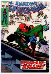 Amazing Spider-Man #90 HIGH GRADE  Death of Captain George Stacy; Doctor Octopus