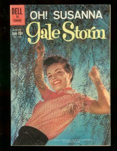 OH! SUSANNA GALE STORM FOUR COLOR #1105 PHOTO COVER TV VG
