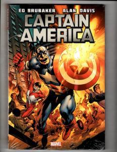 Captain America Vol. # 2 Brubaker Dav Marvel Comics HARDCOVER Graphic Novel J307