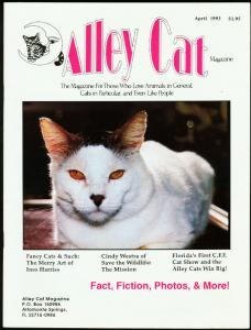 ALLEY CAT #2-1993-JIM IVEY ILLUSTRATED CATS FEATURE FN