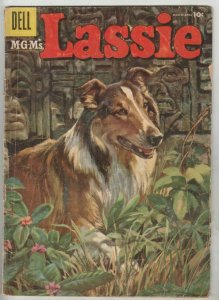 Lassie # 27 Strict VG Affordable-Grade Cover Painted Irish Setter pics & bio