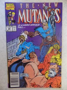 NEW MUTANTS # 89 MCFARLANE LIEFELD HOT MOVIE