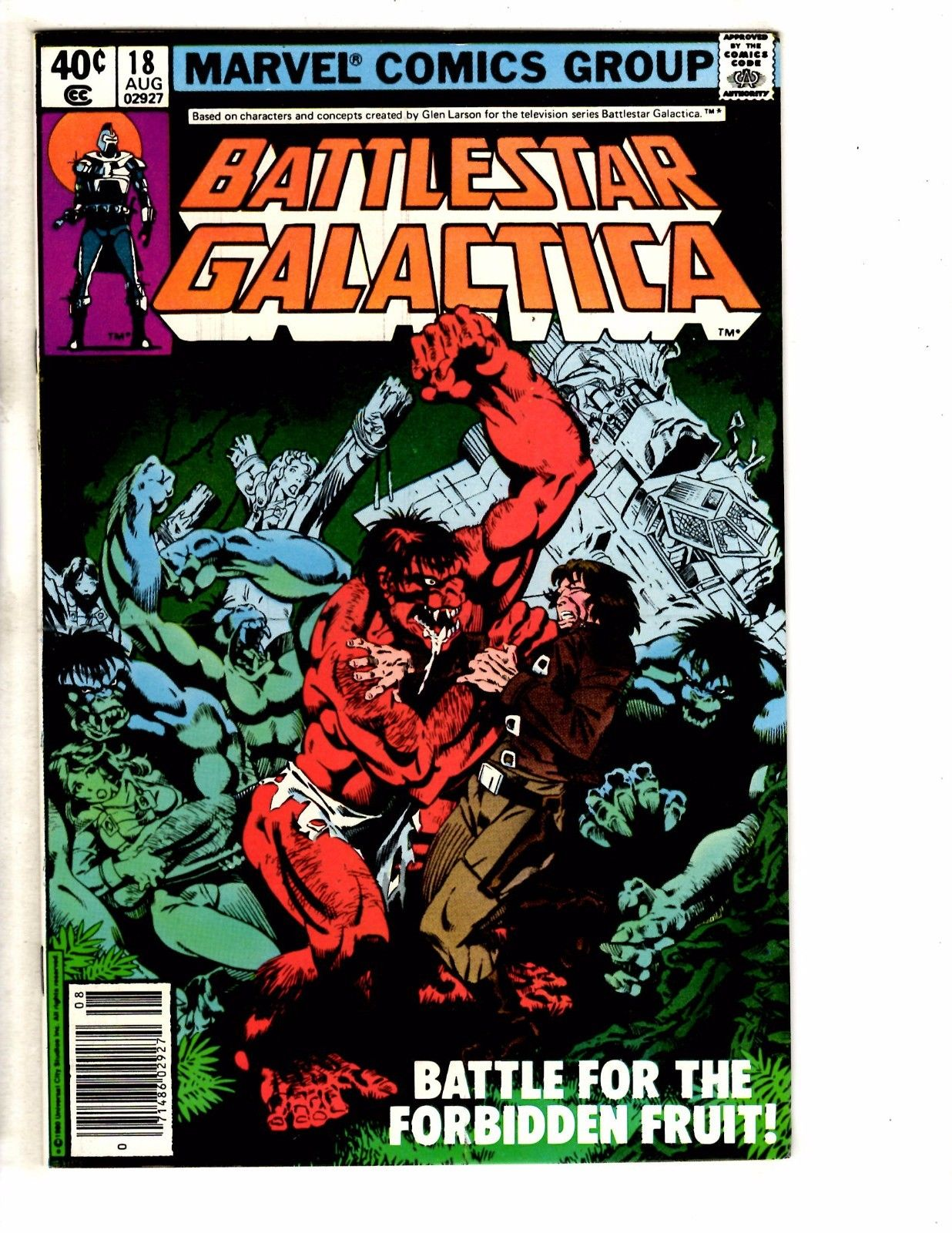 Lot Of 6 Battlestar Galactica Marvel Comic Books # 18 19 20