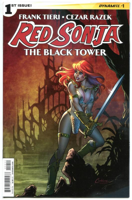 RED SONJA Black Tower #1, NM-, She-Devil, Amanda Connor, 2014, more RS in store