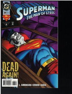 Superman: Man of Steel #38 (DC, 1994)