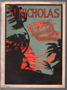 St. Nicholas 8/1929-Malhon Blaine-RCMP-pulp type stories-Rutledge-VG