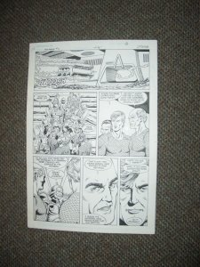 CURT SWAN ORIGINAL ART AQUAMAN #2 PG 4-NICE PANELS-1989 FN