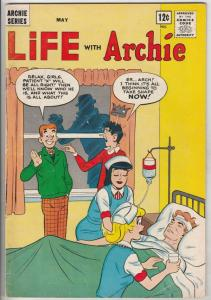 Life with Archie #27 (May-64) FN Mid-Grade Archie, Jughead, Betty, Veronica, ...